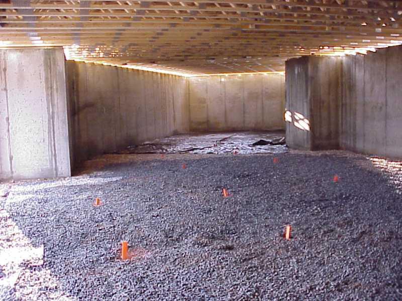 Our House The Basement Slab